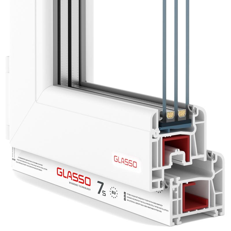 Вікна Glasso 7S