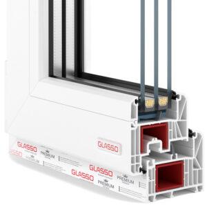 Вікна Glasso 85