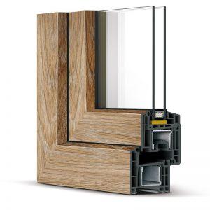 Окна REHAU-Brillant-Design